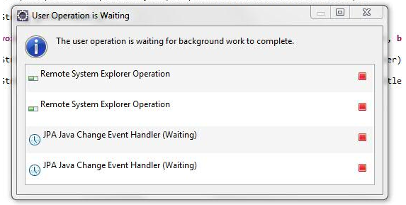 386171 – JPA Java Change Event Handler (Waiting)