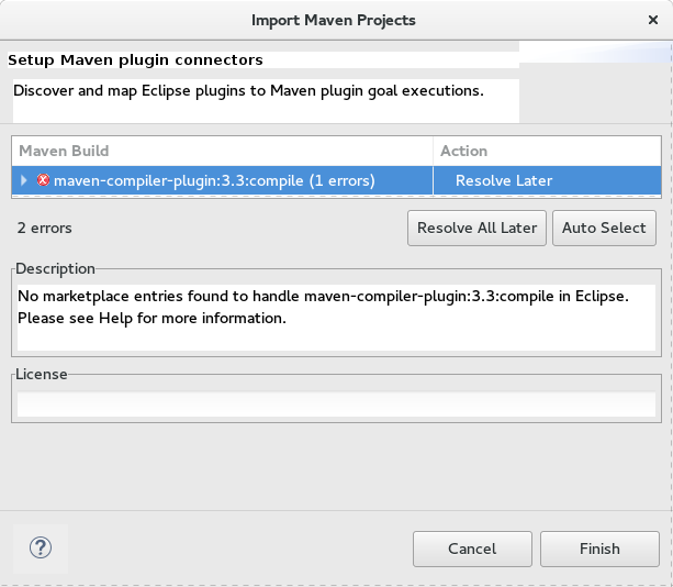 481854 – m2e fails to set up Java Project correctly when