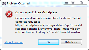 499383 – Cannot install remote marketplace locations: Cannot