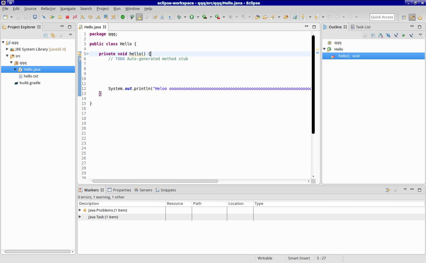 530693 – [GTK2] Editor redrawn incorrectly on horizontal